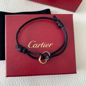 Cartier Gold Black Ceramic Diamond Love Bracelet